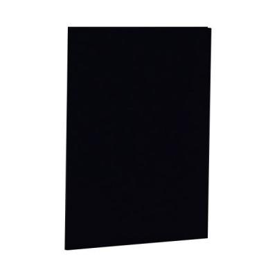 ナカバヤシ 証書ファイル 布クロス A4二つ折り 同色コーナー固定タイプ 黒 FSHA4D 1冊 (×5)