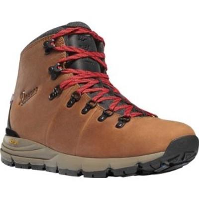 """ダナー メンズ ブーツ&レインブーツ シューズ Mountain 600 4.5"""" 200G Waterproof Boot (Men's) Brown/Red Full Grain Leather"""
