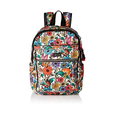 Sakroots Unisex's Artist Circle Cargo Backpack, Optic in Bloom, One Size 並行輸入品