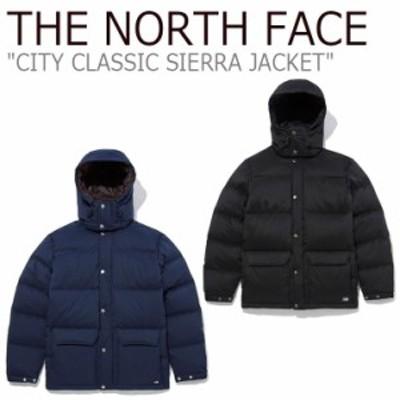 ノースフェイス ダウン THE NORTH FACE CITY CLASSIC SIERRA JKT シティー クラシック シエラ ジャケット NAVY BLACK NJ1DL54A/B ウェア