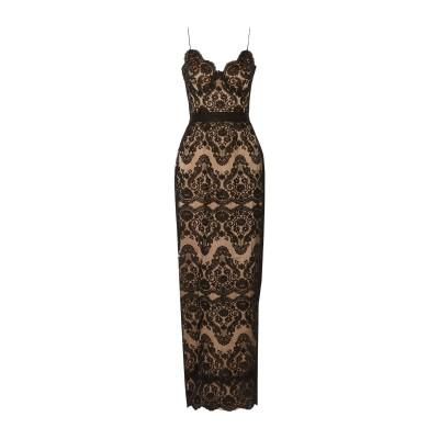 CATHERINE DEANE ロングワンピース&ドレス ブラック 14 ナイロン 80% / レーヨン 20% ロングワンピース&ドレス