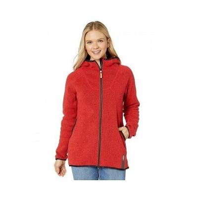 INDYGENA レディース 女性用 ファッション アウター ジャケット コート フリース ソフトシェル Pania - Red Ash Heather