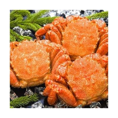 海鮮蟹工房 北海道 オホーツク海産 ボイル冷凍 毛がに 400g前後 3尾