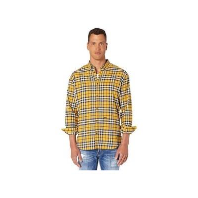ディースクエアード Check Relax Dan Button-Up Shirt メンズ シャツ トップス Yellow/Grey/Black/White