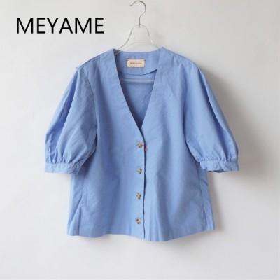 MEYAME |メヤメ Round Sleeve Blouse/Mey-1262