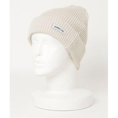 AVIREX Belle / AVIREX コットンニットワッチ WOMEN 帽子 > ニットキャップ/ビーニー