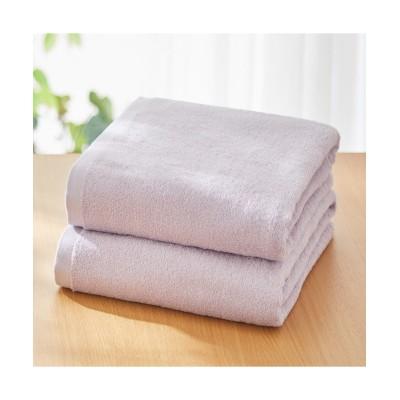 【中厚手】大判バスタオル同色2枚セット(デイリーシリーズ) バスタオル, Towels(ニッセン、nissen)