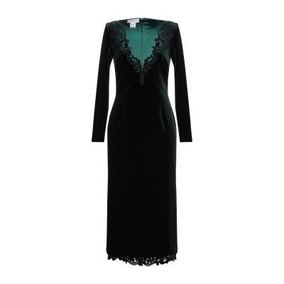 CAILAN'D 7分丈ワンピース・ドレス ダークグリーン 44 ポリエステル 90% / ポリウレタン 10% 7分丈ワンピース・ドレス