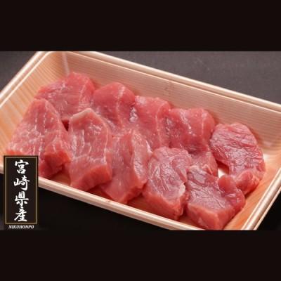 宮崎県産豚モモ一口かつ用 250g