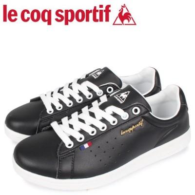 le coq sportif ルコック スポルティフ スニーカー メンズ レディース LA ローラン LA ROLAND LE ブラック 黒 QL1PJC18BK
