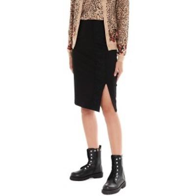 TWIN SET/ツイン セット Black   Split skirt レディース 秋冬2019 192TP2095S0759500006 ju