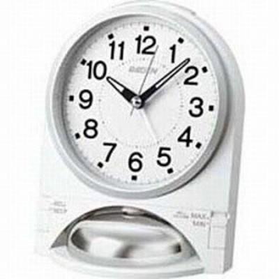 セイコー NR436W 目覚まし時計 ライデン