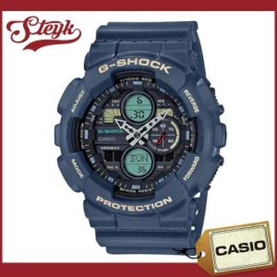 CASIO GA-140-2A カシオ 腕時計 アナデジ G-SHOCK Gショック メンズ ブラック ネイビー カジュアル