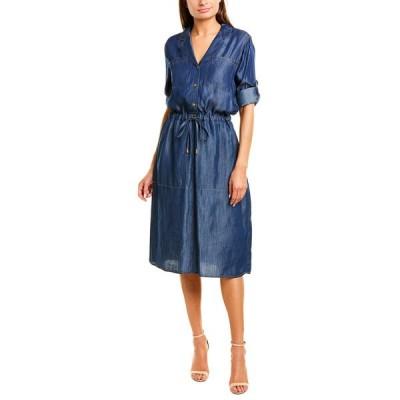 ダナキャラン ワンピース トップス レディース Donna Karan New York Shirtdress dark indigo