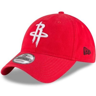 ヒューストン・ロケッツ New Era Official Team Color 9TWENTY Adjustable キャップ - Red