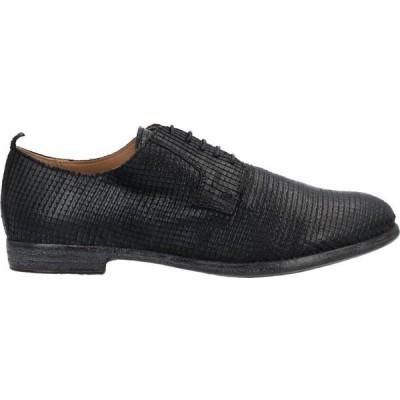 モマ MOMA メンズ シューズ・靴 laced shoes Black
