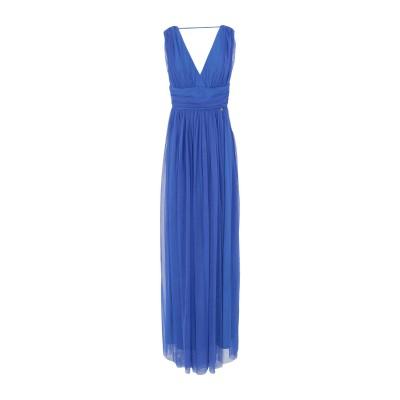 レリッシュ RELISH ロングワンピース&ドレス ブルー M ポリエステル 100% ロングワンピース&ドレス