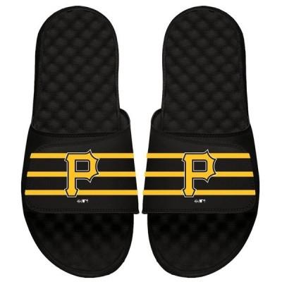 アイスライド メンズ サンダル シューズ Pittsburgh Pirates ISlide MLB Stripe Slide Sandals