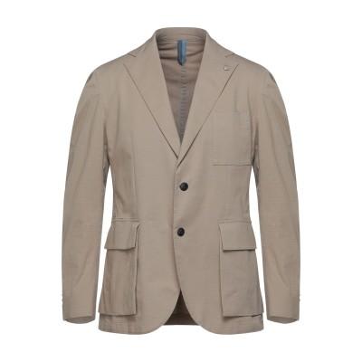 HARMONT&BLAINE テーラードジャケット サンド 50 コットン 96% / ポリウレタン 4% テーラードジャケット