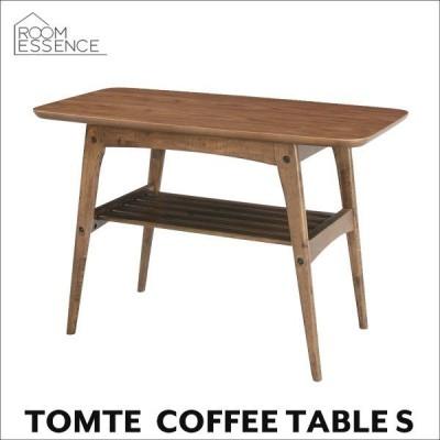 コーヒーテーブル S 幅75cm ローテーブル センターテーブル ウォールナット 木製 北欧 TAC-227WAL