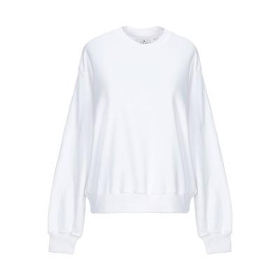 チープマンデー CHEAP MONDAY スウェットシャツ ホワイト XS コットン 97% / ポリウレタン 3% スウェットシャツ