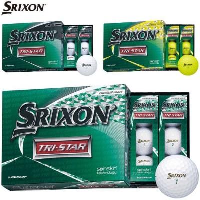 スリクソン TRI-STAR ゴルフボール 2020年モデル 1ダース [12球入り]