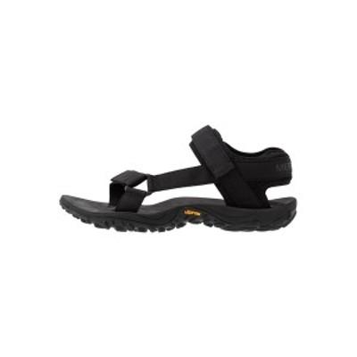 メレル メンズ サンダル シューズ KAHUNA - Walking sandals - black black