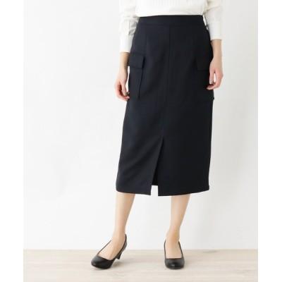 HusHusH / 【洗濯機OK】ミモレペンシルスカート WOMEN スカート > スカート