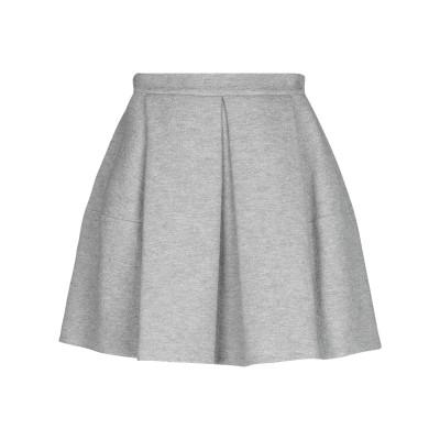 エルマノ シェルヴィーノ ERMANNO SCERVINO ひざ丈スカート グレー 38 ウール 70% / シルク 20% / カシミヤ 10%