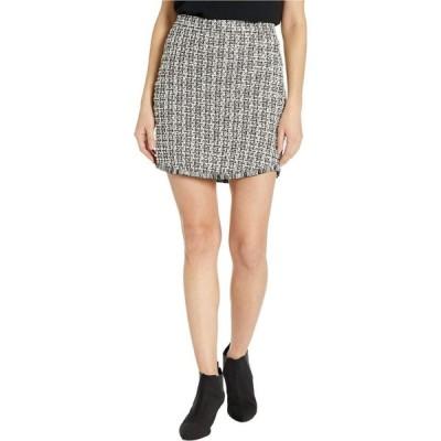ビービーダコタ BB Dakota レディース スカート It's Blair High-Waisted Knit Tweed Skirt Black