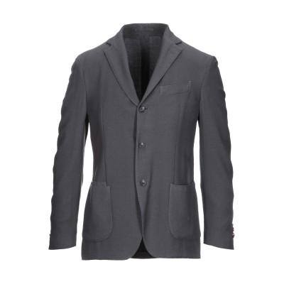 ラルディーニ LARDINI テーラードジャケット 鉛色 48 ウール 87% / シルク 13% テーラードジャケット