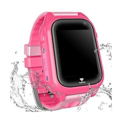 YENISEY 子供用スマートウォッチ防水腕時計 子供用 GPS LBS トラッカーウォッチ 通話トーキーウォーキーゲ