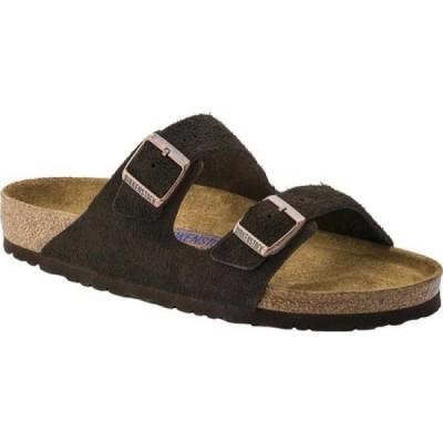 ビルケンシュトック Birkenstock メンズ サンダル シューズ・靴 Arizona Suede with Soft Footbed Mocha Suede with Soft Footbed