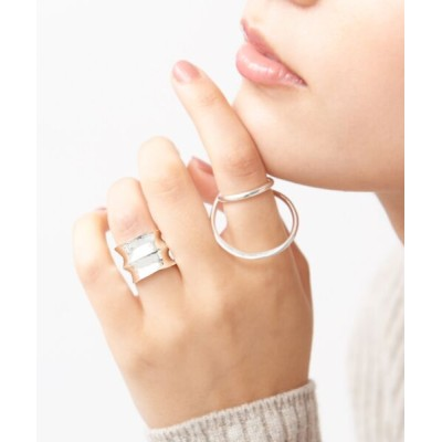 collex/コレックス 【Lemme./レム】icefloe ring&earcuff【予約】 シルバー 11