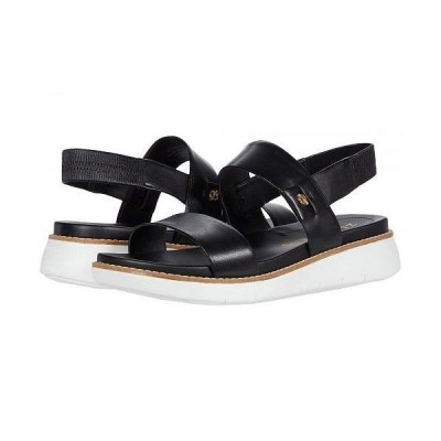 Cole Haan コールハーン レディース 女性用 シューズ 靴 サンダル Zerogrand Global Double Band Sandal - Black/Optic White