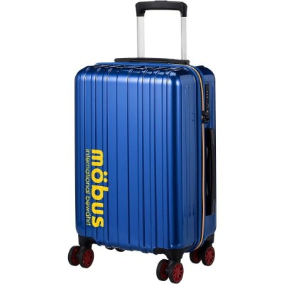 ハードキャリー mobus×A.L.I コラボレーションキャリーケース 機内持ち込み可 32L 54.5 cm 2.5kg ブルー キャリーバッグ スーツケース