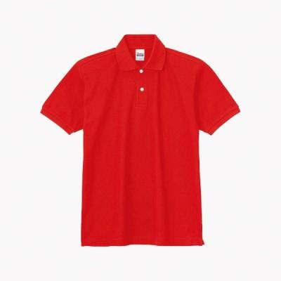 トムス チームTシャツ ユニフォーム 00223-172-4L-SDP 5.3オンス スタンダードポロシャツ ブライトレッド 4L 00223-172-4L <2019AWCON>