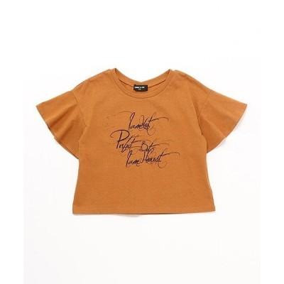 tシャツ Tシャツ フレアースリーブ Tシャツ