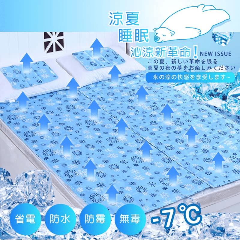 日本熱銷涼感冰涼墊床墊枕墊萬用墊 散熱透氣墊  凝膠冰材質床墊