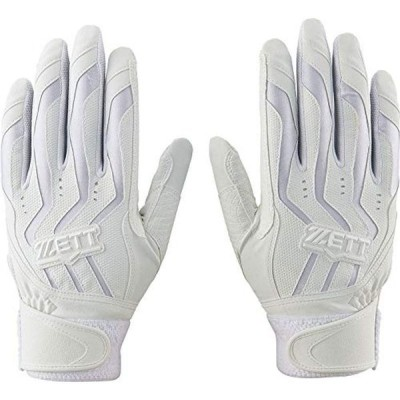 ZETT(ゼット) バッティンググローブ 両手 高校野球対応 インパクトゼット S(22~23cm) BG999HS ホワイト(1100)