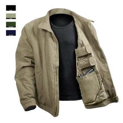 シークレットポケット装備 キャリージャケット ロスコ 3 Season Concealed Carry Jacket ポイント10倍