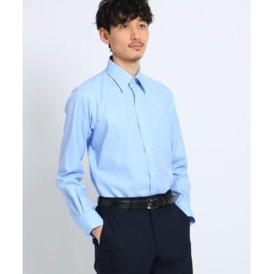 【タケオキクチ】 マイクロドットブロードシャツ[ メンズ トップス シャツ ビジネス 結婚式 ノンアイロン ] メンズ ライト ブルー 03(L) TAKEO KIKUCHI