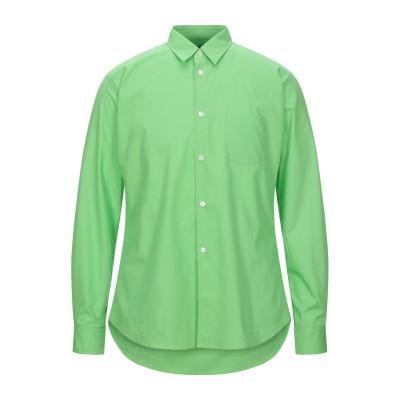COMME des GARÇONS SHIRT シャツ ライトグリーン L コットン 100% シャツ