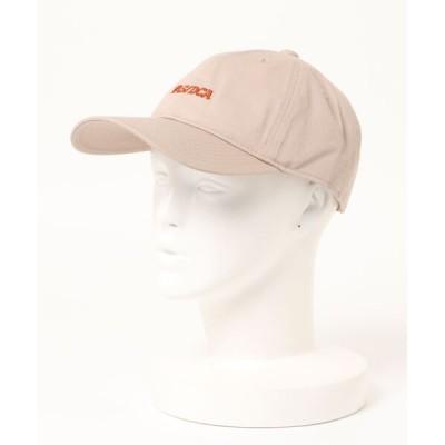Right-on / 【BACK NUMBER】カレッジ刺繍キャップ MEN 帽子 > キャップ