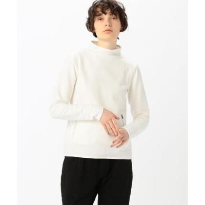 tシャツ Tシャツ コットンフリース モックネックプルオーバー WMBT3233