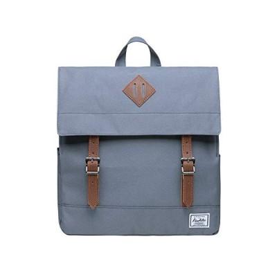 "Stylish School Bookbag Kaukko College Student Laptop Backpacks fit 14"" Laptops (Grey-KS05)【並行輸入品】"