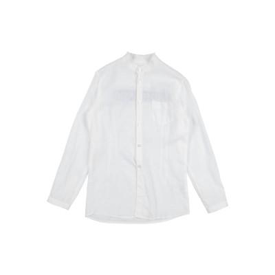 パオロ ペコラ PAOLO PECORA シャツ ホワイト 6 麻 55% / コットン 45% シャツ