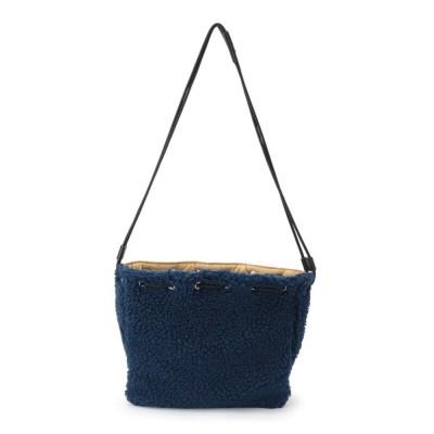 SHOO・LA・RUE / 【WEB限定カラーあり】スターキルティング×ボア巾着ショルダーバッグ WOMEN バッグ > ショルダーバッグ