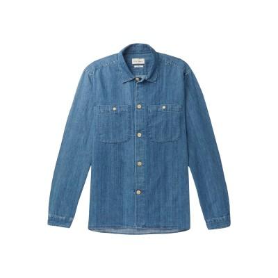オリバー・スペンサー OLIVER SPENCER デニムシャツ ブルー S コットン 100% デニムシャツ