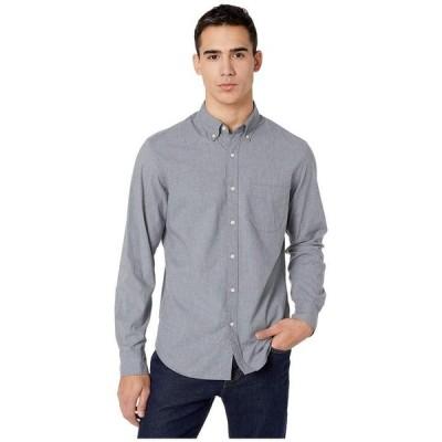 ジェイクルー メンズ シャツ トップス Slim Stretch Secret Wash Shirt in Heathered Organic Cotton